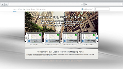 ArcGIS Online for Local Government | ArcGIS Solutions for Local