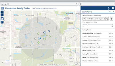 construction activity tracker arcgis solutions for local government