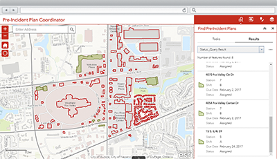 Pre Incident Plan Coordinator Arcgis Solutions For Local