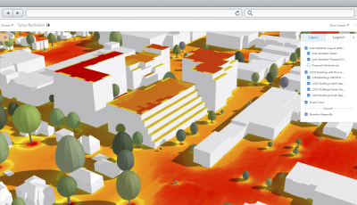 calculate solar radiation is a configuration of arcgis pro that can be used by local government staff to calculate solar radiation maps for the wider