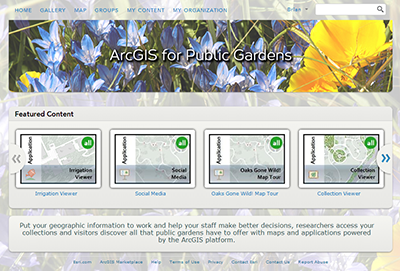 Arcgis online for public gardens arcgis for parks and gardens arcgis online for organizations is a cloud based mapping platform that is accessible from many different locations organizations can subscribe to the sisterspd