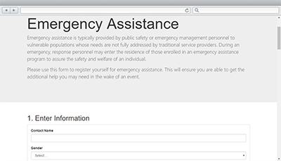 Emergency Assistance Soluiton