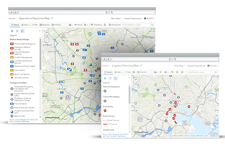 Situational Awareness Arcgis Solutions For Emergency