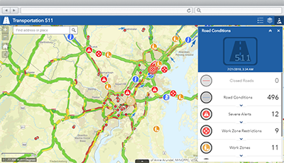 Transportation 511 | ArcGIS Solutions for State Government on