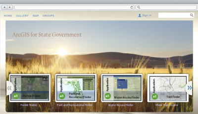 ArcGIS Online for State Government | ArcGIS Solutions for