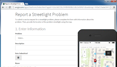 Report Streetlight