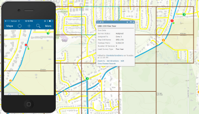Leak Survey Collector Arcgis Solutions For Gas