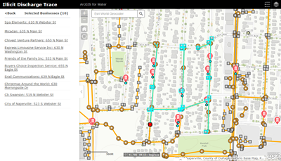 Illicit Discharge Trace Arcgis Solutions For Water