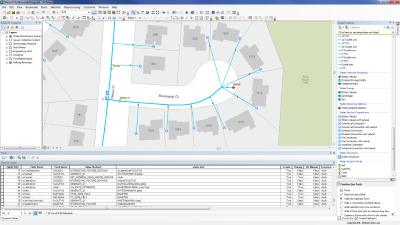 Water Geometric Network Editing And Analysis Arcgis