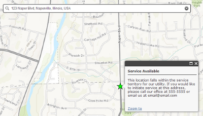 Sewer Service Lookup